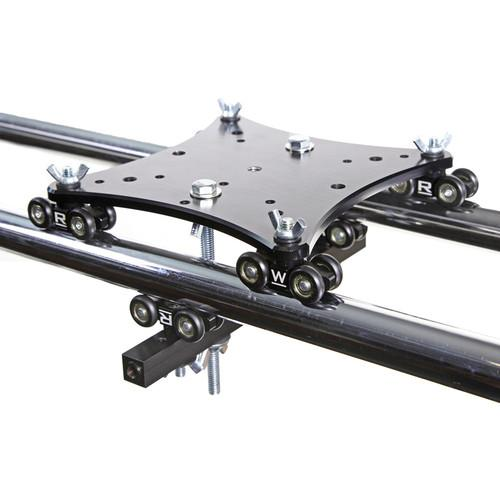 RigWheels MWS2 MicroWheel Stage-2 Linear Slider Carriage MWS2