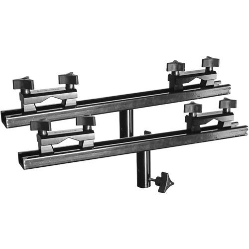 RigWheels Universal Rail Brackets with 13
