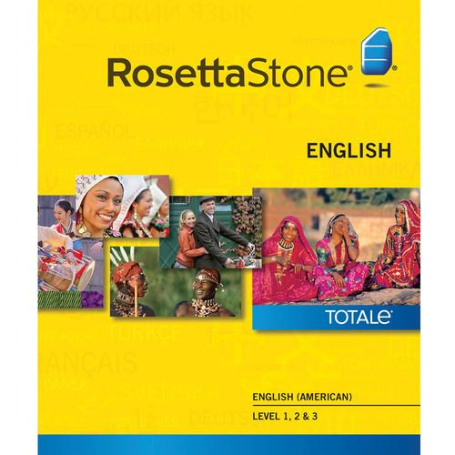 Rosetta Stone English / American Levels 1-3 27766WIN