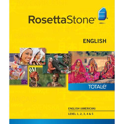 Rosetta Stone English / American Levels 1-5 27767WIN