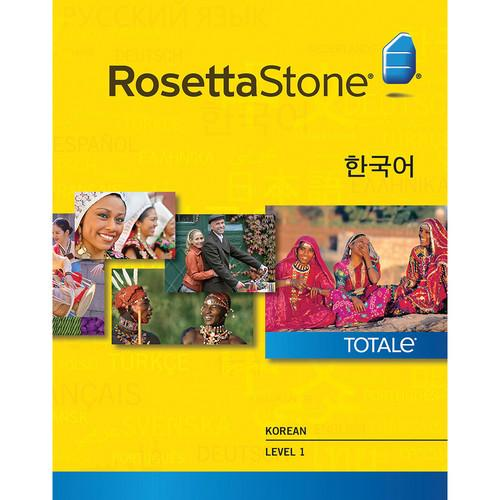 Rosetta Stone  Korean Level 1 27838MAC