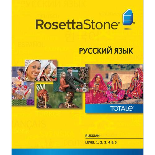 Rosetta Stone  Russian Levels 1-5 29882MAC