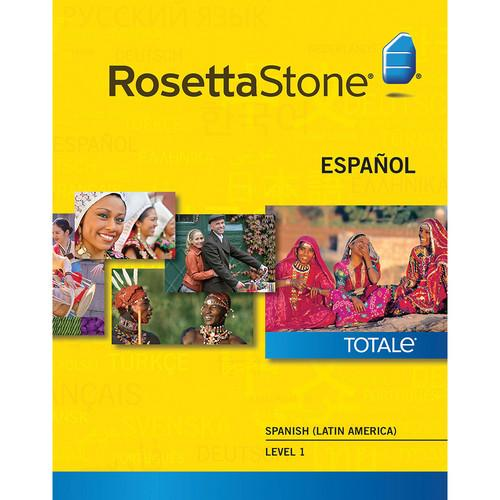 Rosetta Stone Spanish / Latin America Level 1 27868MAC