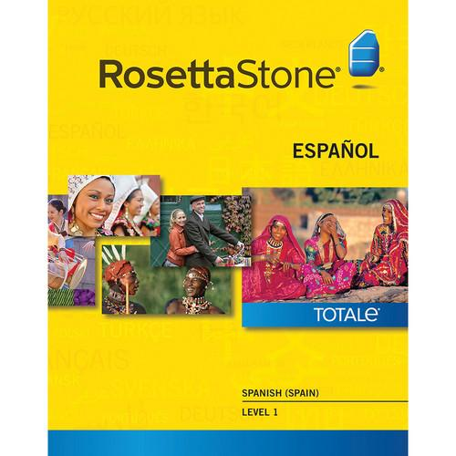 Rosetta Stone  Spanish / Spain Level 1 27877WIN