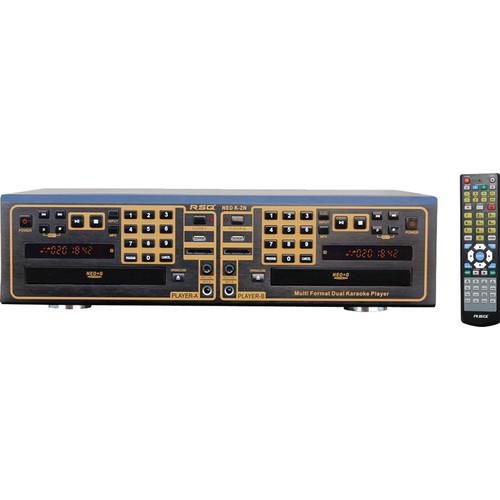 RSQ Audio NEO K-2 Dual Deck Multi Format Karaoke Player K2N