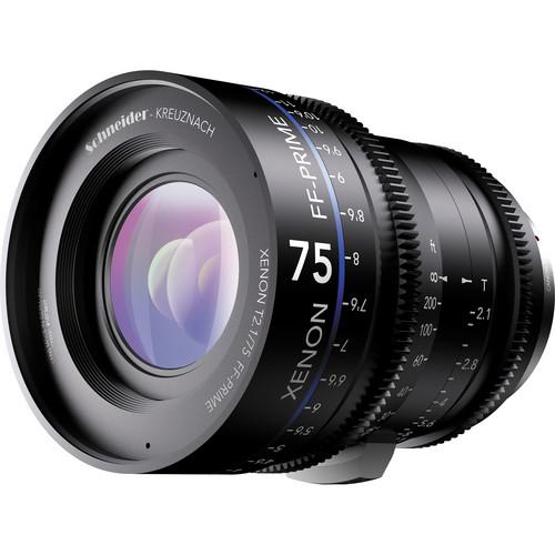 Schneider Xenon FF 75mm T2.1 Lens with ARRI PL Mount 09-1078352