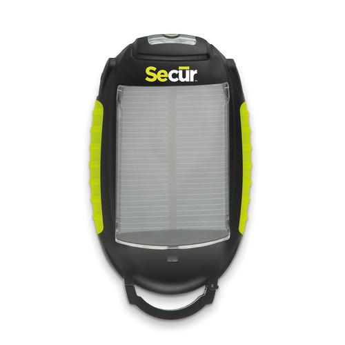 Secur SP-3003 Solar Cell Phone Charger with Utility SCR-SP-3003