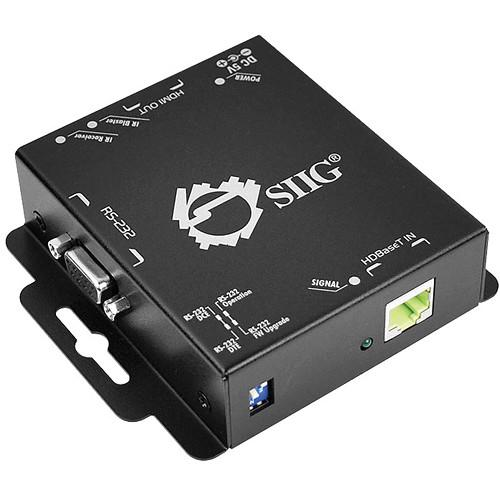 SIIG HDMI Extender over Single CAT5e with RS-232 CE-H21T11-S1