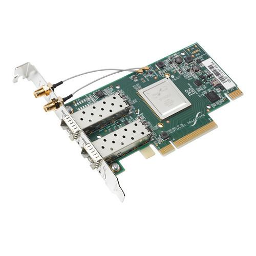 Solarflare SFN6322F Dual Port 10 GbE SFP  Server Adapter