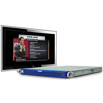 Sony ChyronHego LyricPro for MVS Video Production MVS/LYRICPRO