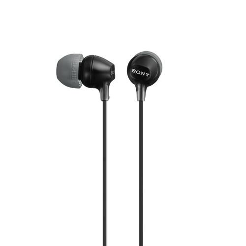 Sony MDR-EX15LP In-Ear Headphones (Black) MDREX15LP/B