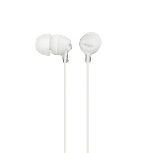 Sony MDR-EX15LP In-Ear Headphones (White) MDREX15LP/W