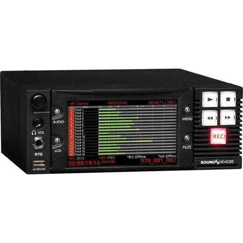 Sound Devices 970: 64-Track Dante And MADI Audio Recorder 970