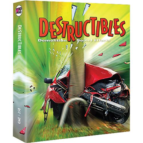 Sound Ideas Destructibles Sound Effects - SI-DESTRUCT
