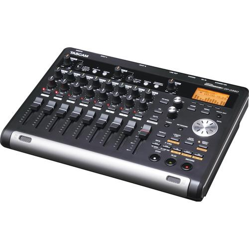Tascam DP-03SD Digital Portastudio 8-Track Recorder DP-03SD