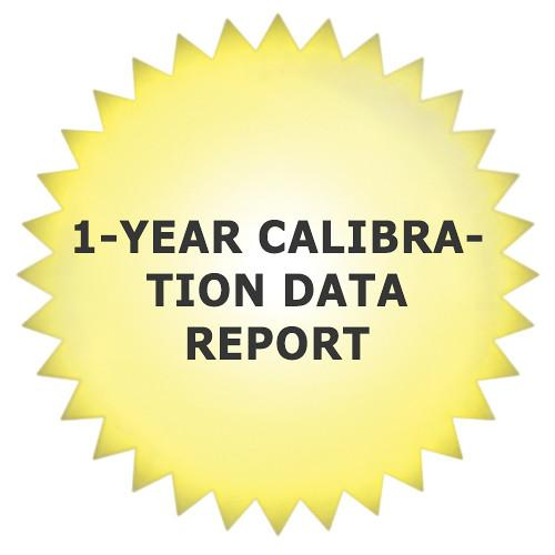Tektronix 1-Year Calibration Data Report for ECO8000 ECO8000D1