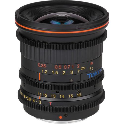 Tokina Cinema 11-16mm T3.0 with Canon EF Mount TC-116C