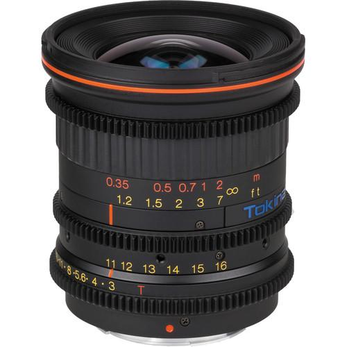 Tokina Cinema 11-16mm T3.0 with Micro Four Thirds Mount