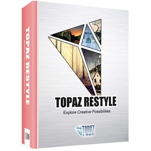 Topaz Labs LLC Topaz ReStyle Plug-In (DVD) TP-RES-C-001-GN
