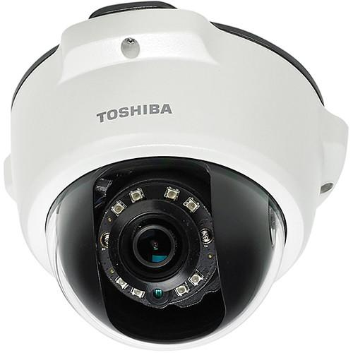 Toshiba Outdoor Day/Night 1080p HD IP Mini-Dome Camera IK-WR05A