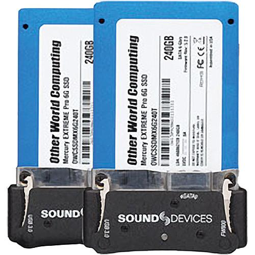 Video Devices XM-Caddy Pack - 2 SSDs with Caddies XM-CADDY PACK