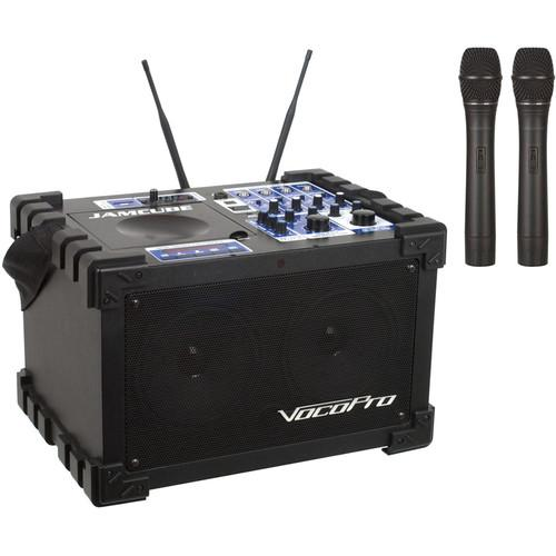 VocoPro JAMCUBE2 100W Stereo Mini PA System JAMCUBE 2