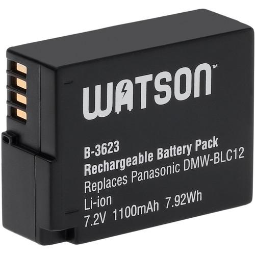 Watson DMW-BLC12 Lithium-Ion Battery Pack (7.2V, 1100mAh) B-3623