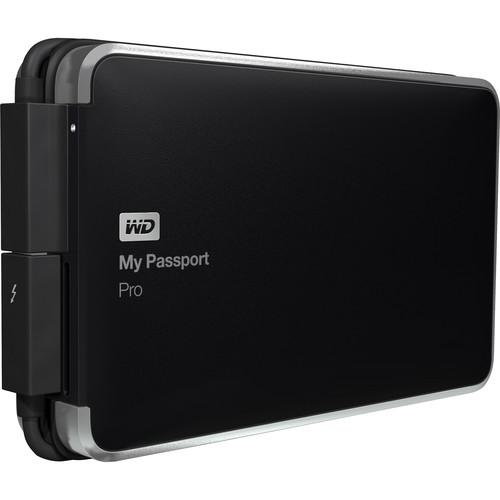 WD 2TB My Passport Pro Portable RAID Storage WDBRMP0020DBK-NESN
