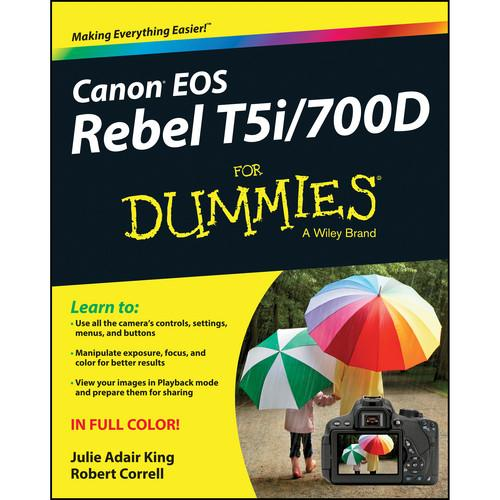 Wiley Publications Book: Canon EOS Rebel 978-1-118-72296-1