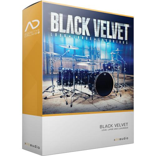 XLN Audio Black Velvet AD2 ADPAK - Virtual Drum Kit XLN1059