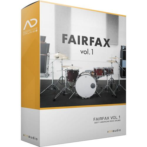 XLN Audio Fairfax Vol. 1 AD2 ADPAK - Virtual Drum Kit XLN1061