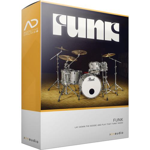 XLN Audio Funk AD2 ADPAK - Virtual Drum Kit (Download) XLN1054
