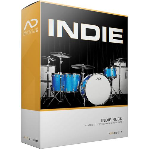 XLN Audio Indie AD2 ADPAK - Virtual Drum Kit (Download) XLN1057