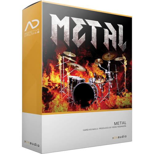 XLN Audio Metal AD2 ADPAK - Virtual Drum Kit (Download) XLN1056