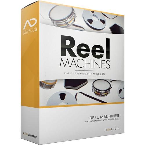 XLN Audio Reel Machines AD2 ADPAK - Virtual Drum Kit XLN1055