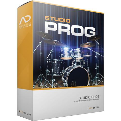 XLN Audio Studio Prog AD2 ADPAK - Virtual Drum Kit XLN1043