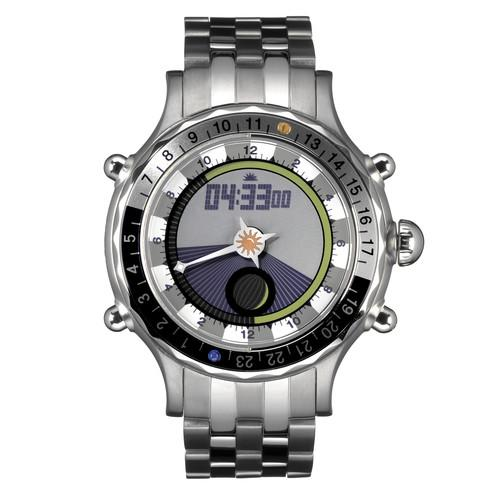 Yes Watch  U100.4 Zulu 4.0 Watch (Silver) U100.4