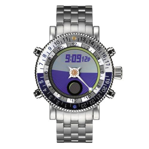 Yes Watch  W406.4 WorldWatch II AM/PM Dial W406.4