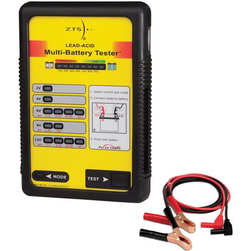 ZTS MBT-LA2 Lead Acid Multi-Battery Tester MBT-LA2-PLIER-LEAD