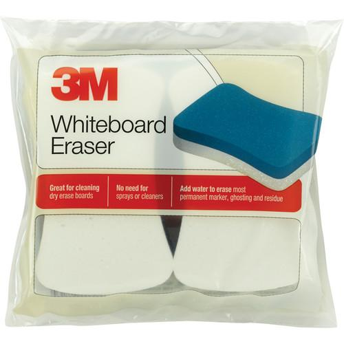 3M 581WBE Whiteboard Eraser Pad (2/Pack - Yellow) 70071304243