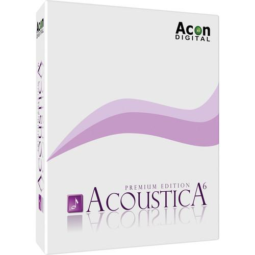 Acon Digital Acoustica Premium Edition 6 - Audio Editor 11-30203