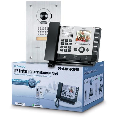 Aiphone IS Series ISS-IPMDF IP Direct Intercom Set ISS-IPMDF