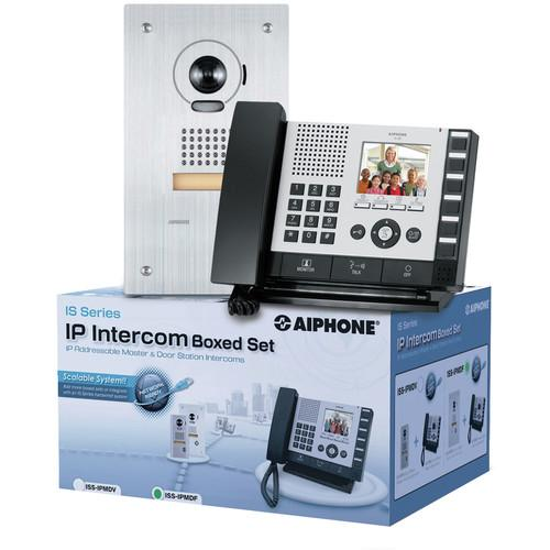 Aiphone IS Series ISS-IPMDV IP Direct Intercom Set ISS-IPMDV