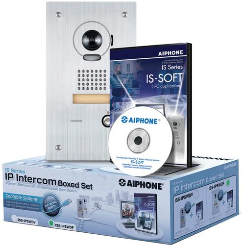 Aiphone IS Series ISS-IPSWDF IP Direct Intercom Set ISS-IPSWDF