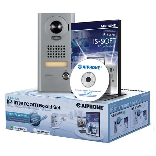 Aiphone IS Series ISS-IPSWDV IP Direct Intercom Set ISS-IPSWDV