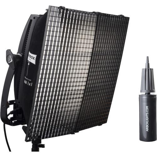 Airbox Model 1x1 Softbox Kit with Eggcrate Louver and 450093