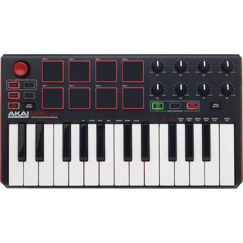 Akai Professional MPK mini MKII - Compact Keyboard and MPKMINI2