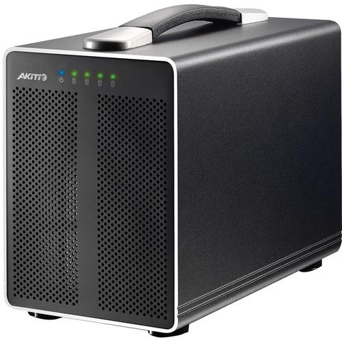 Akitio Thunder2 Quad External 4-Bay Enclosure AK-TBQ-TIAA-AKTU