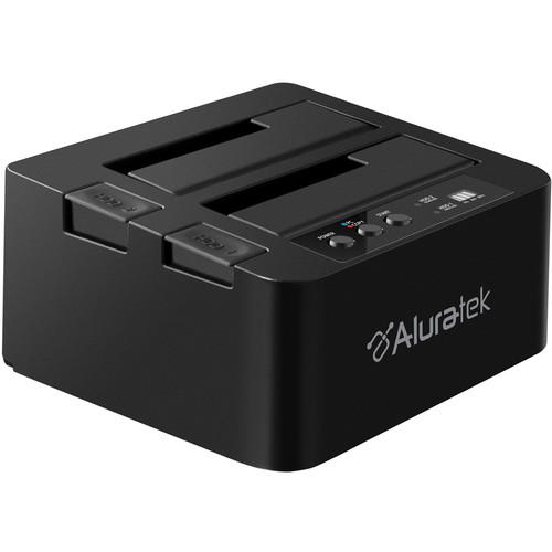Aluratek USB 3.0 Superspeed Dual Bay External SATA AHDDUB300F
