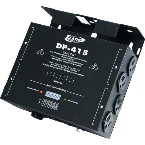 American DJ Elation DP-415 DMX 4-Channel Dimmer Pack DP-415